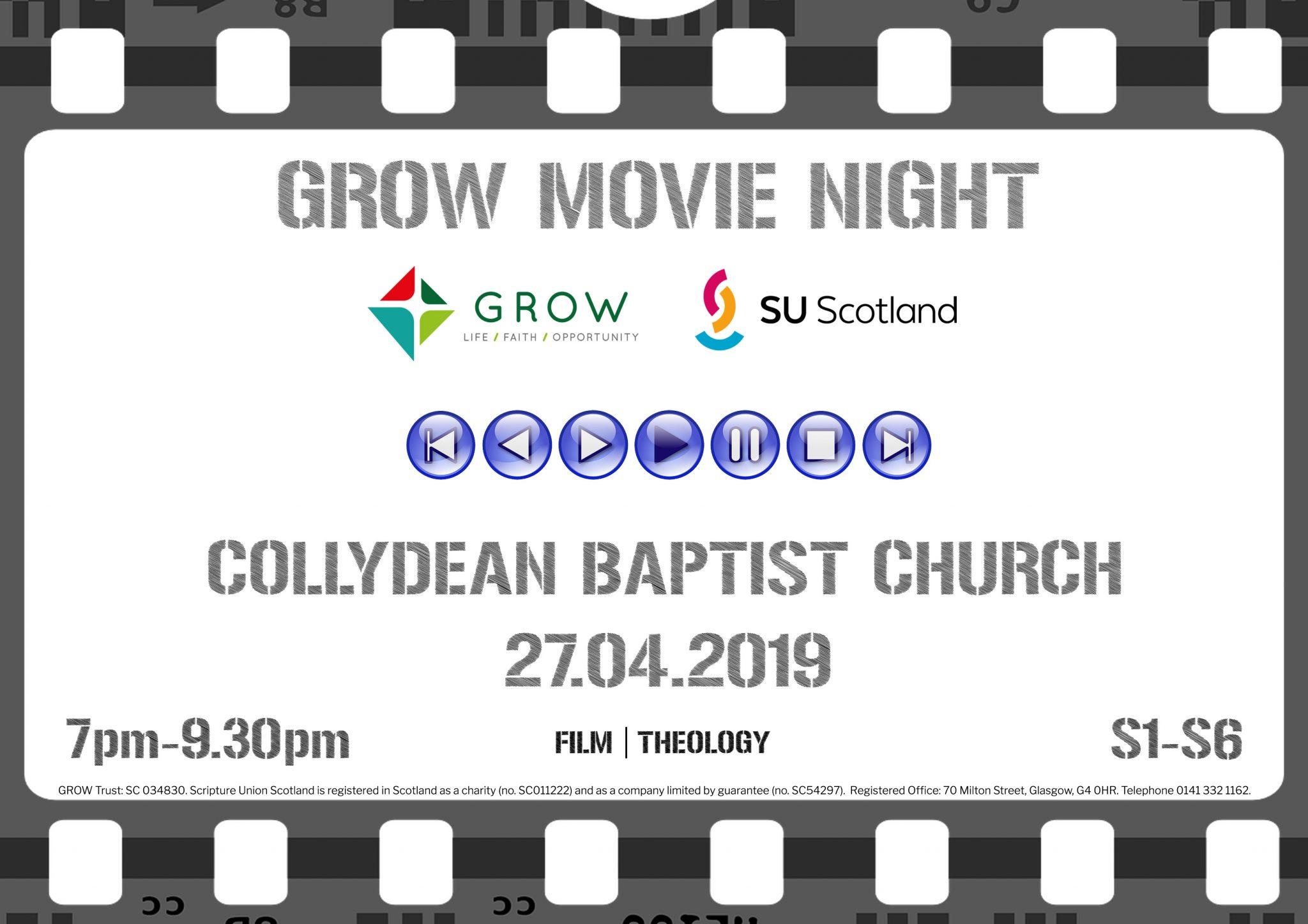 Movie Night Poster - April 2019