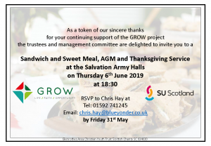 GROW AGM Invitation