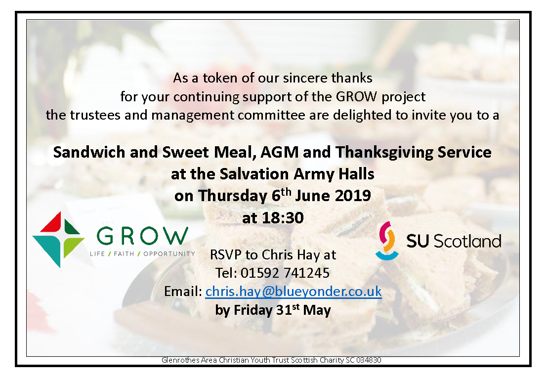 GROW AGM Invitation